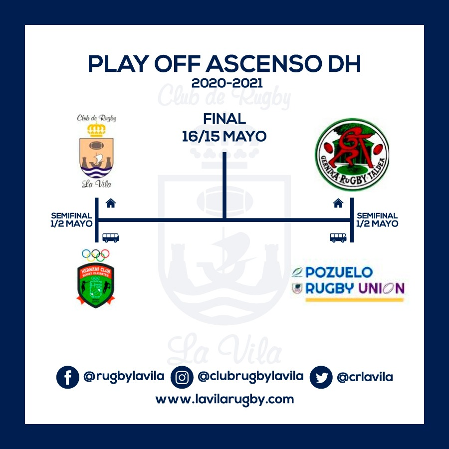Play off ascenso DHA